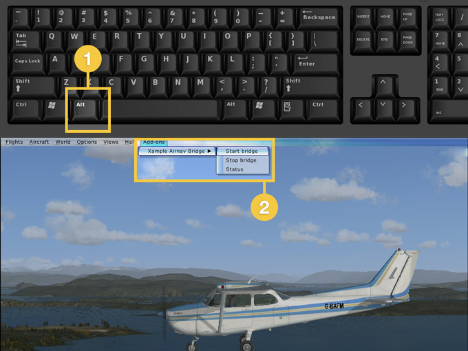 microsoft flight simulator x acceleration activation error
