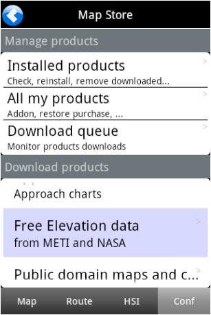 Map Store - Air Navigation User Manuals on